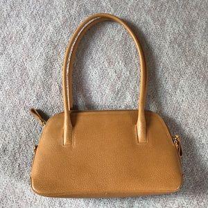 Camel Leather Holt Renfrew Handbag